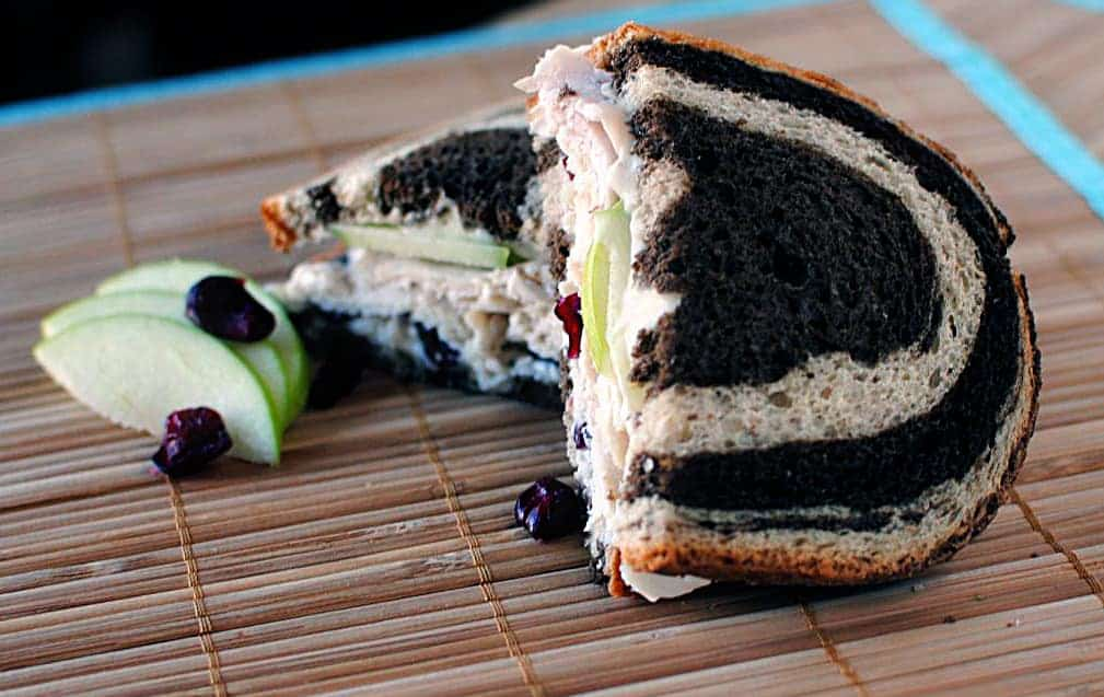 Simple Turkey and Brie Sandwiches, from Pass the Sushi