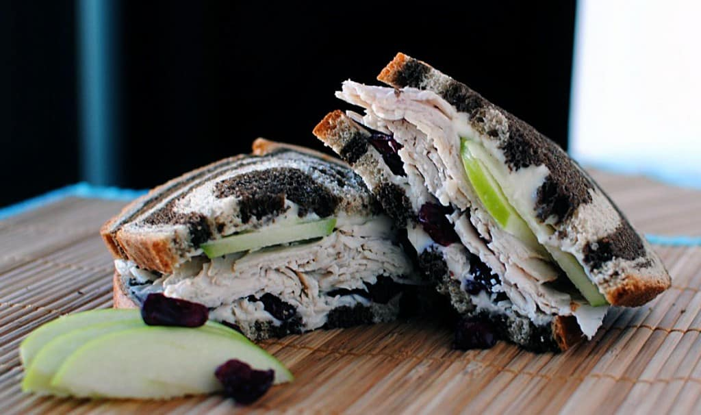 Simple Turkey and Brie Sandwich \\ PassTheSushi.com