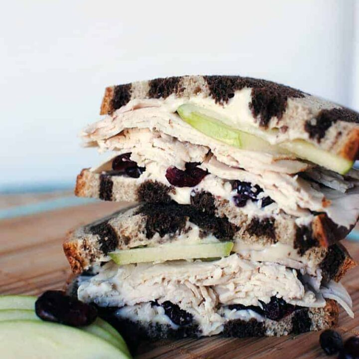 Simple Turkey and Brie Sandwich
