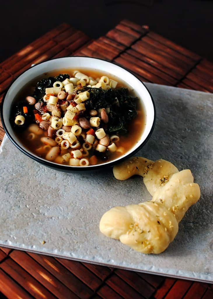 Cranberry Bean Pasta Fagioli  \\ Get the recipe from PassTheSushi.com