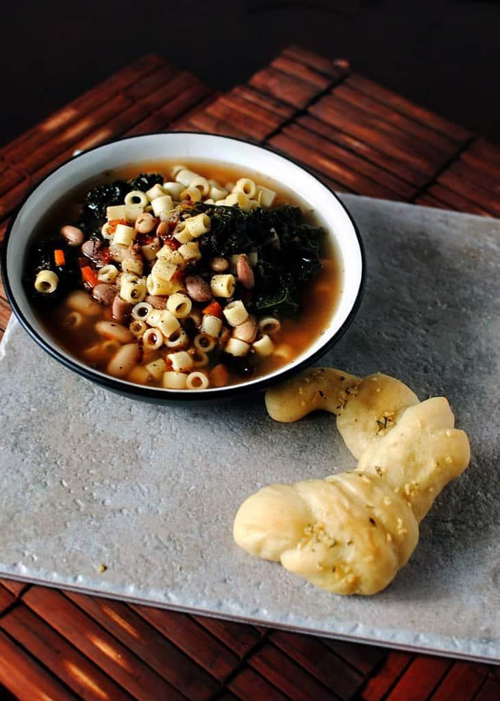Cranberry Bean Pasta Fagioli  \\ Get the recipe from PassTheSushi.com
