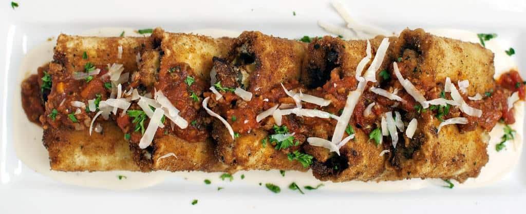 Lasagna Fritta {Copycat Olive Garden Recipe} - Recipe on PassTheSushi.com