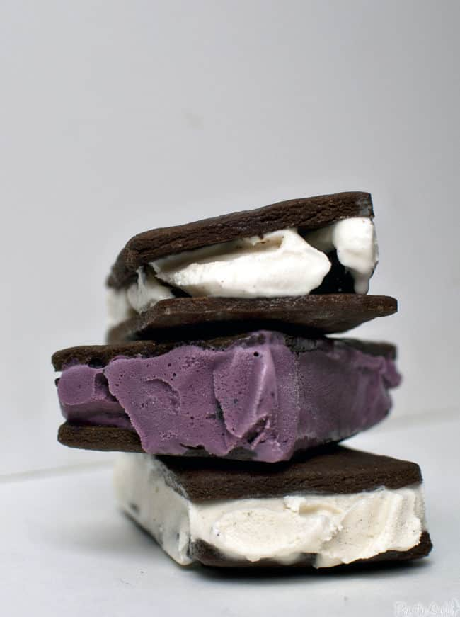 Homemade Ice Cream Sandwiches \\ Get the recipe on PassTheSushi.com