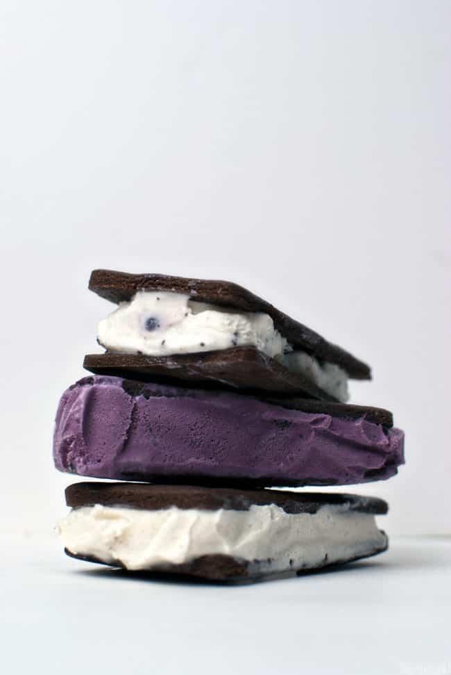 Homemade Ice Cream Sandwiches \\ Get the recipe on PassTheSushi.com