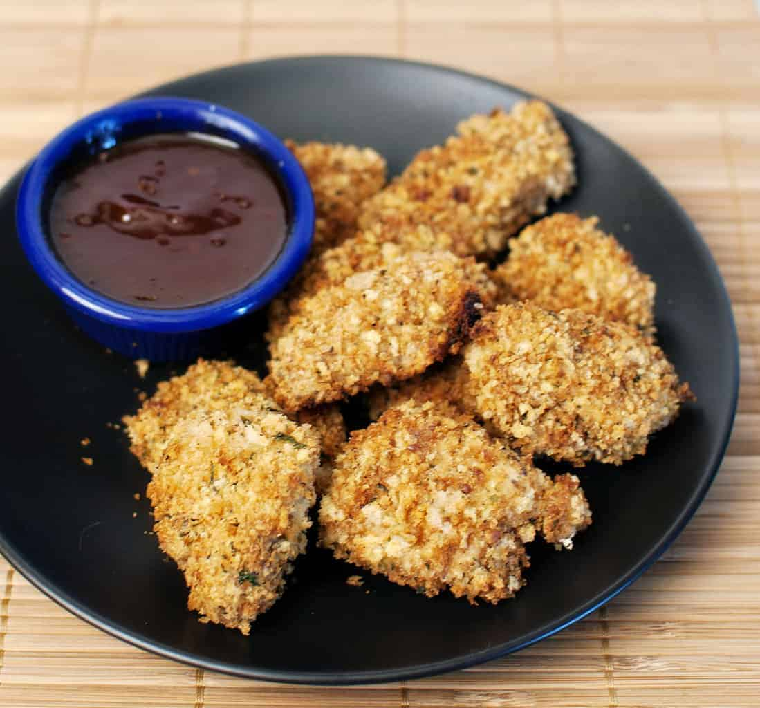 Making time for dinner: Baked Chicken Nuggets
