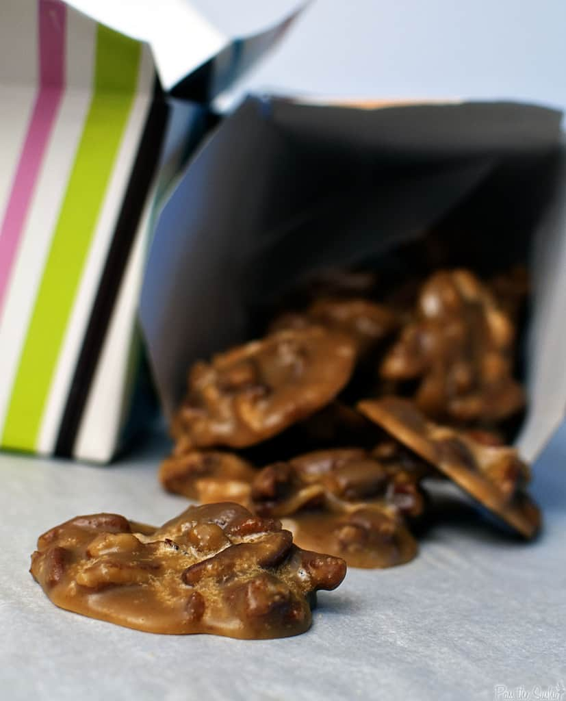 New Orleans Bacon Pralines - so that's a praline. - Pass The Sushi