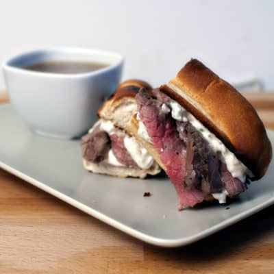 French Dip Sandwiches to kick off Man Food Week