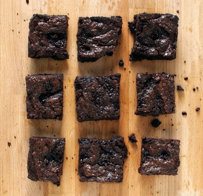 Caramel Bacon Brownies \\ PassTheSushi.com