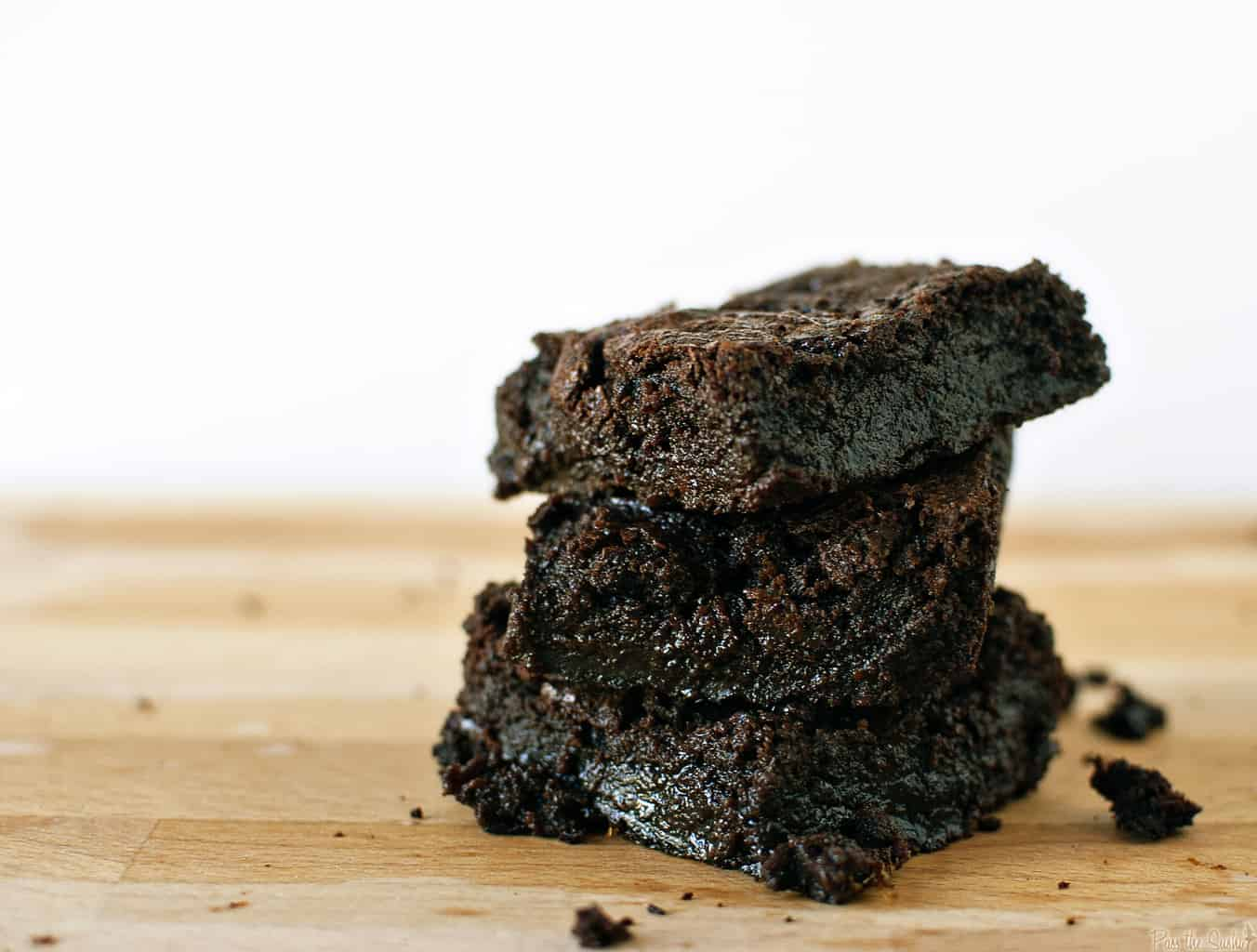 Brownies are for breakfast, especially when they have bacon in them