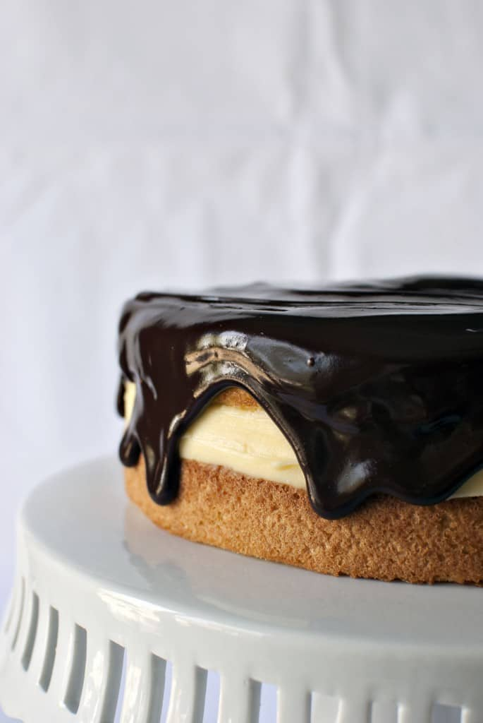 Boston Cream Pie \\ Recipe on PassTheSushi.com