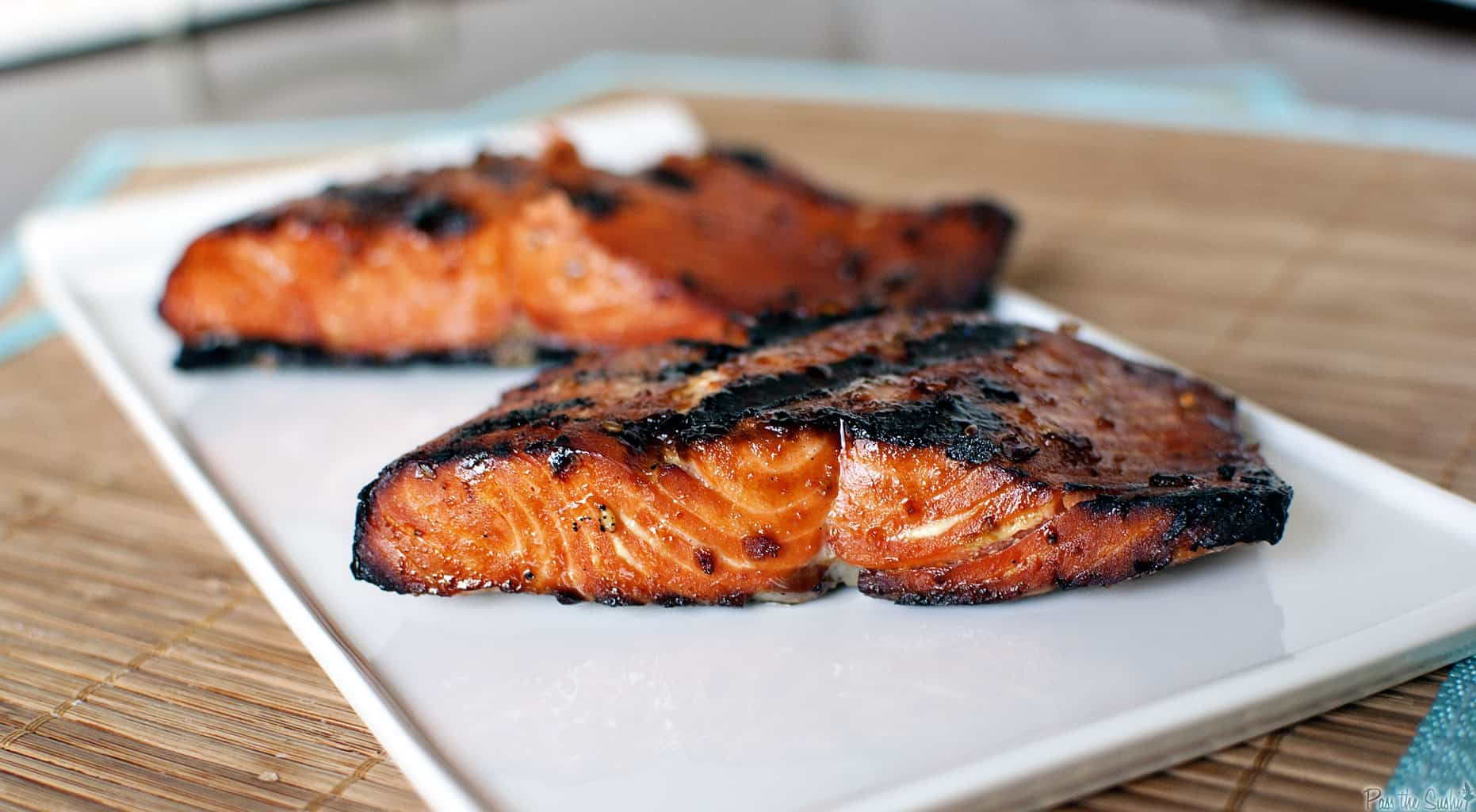 Grilled Salmon and Bicycle Races