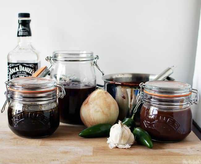 3 homemade barbecue sauce recipes are here to help you get in the grilling mood. Fire up your grill and use one of these flavorful BBQ sauces for dinner! \\ Recipes on PassTheSushi.com