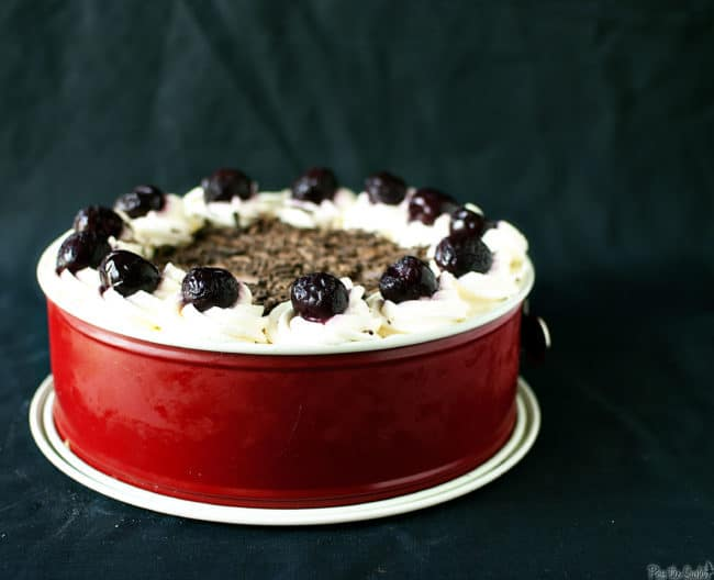 Swiss Black Forest Cake // Recipe on PassTheSushi.com