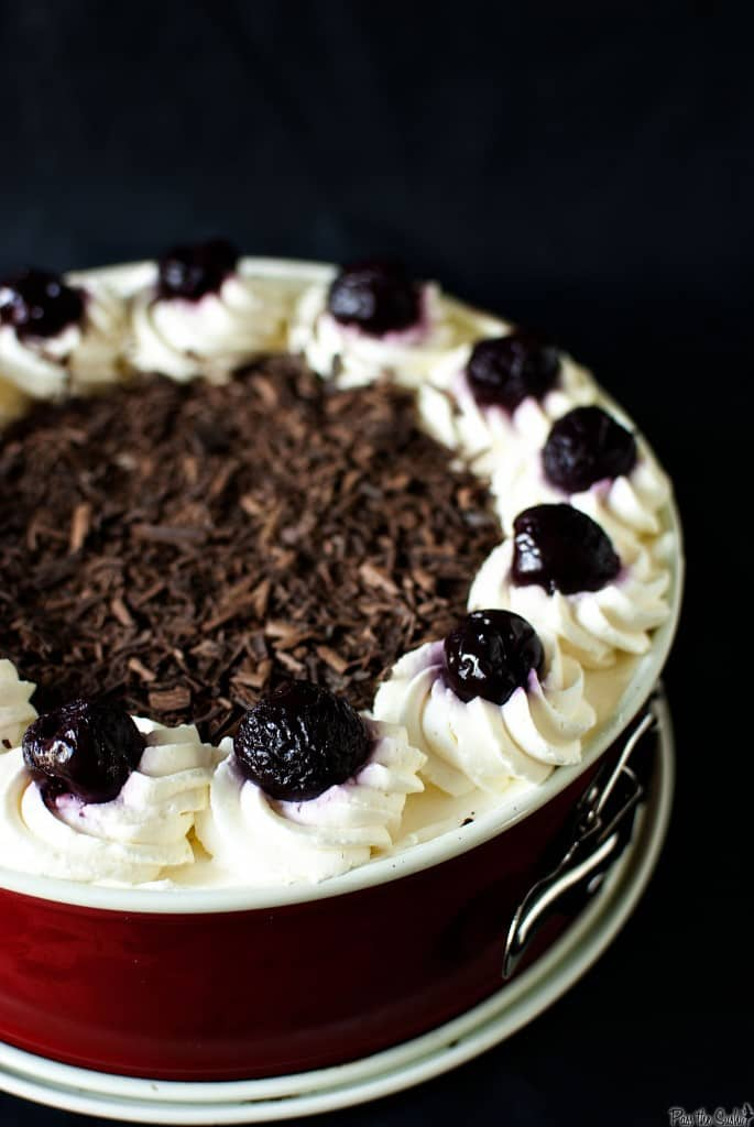Swiss Black Forest Cake // Recipe on PassTheSushi.com