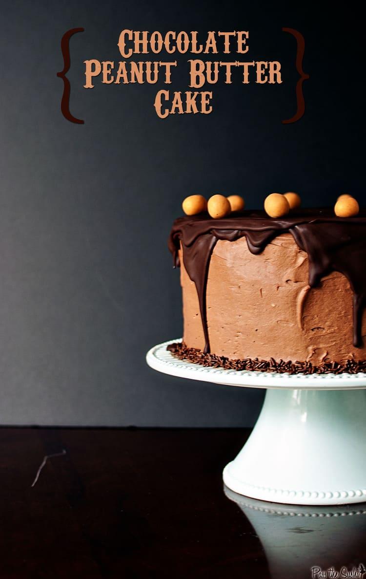 Chocolate Peanut Butter Birthday Cake Pass The Sushi