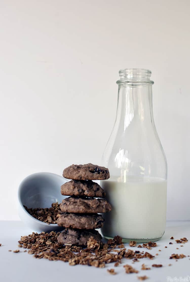 Multigrain Dark Chocolate Chip Cookies Recipe — Dishmaps