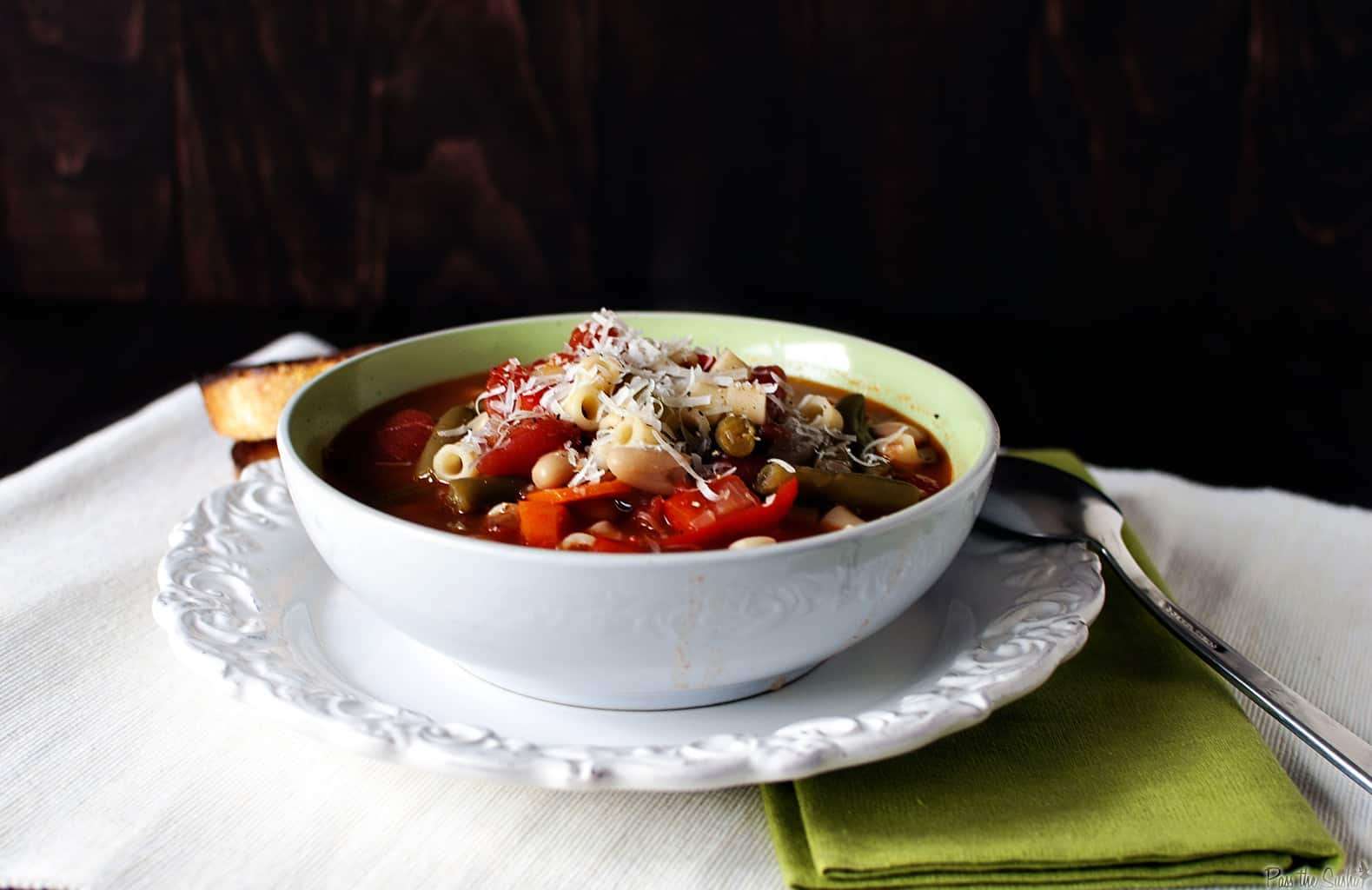 Home Made: Summer Minestrone and Book Review