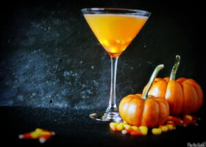 These 3 Halloween martinis will make you the popular mixologist at your Halloween party! Candy corn martinis, dark chocolate martinis, and Twizzler martini recipes! \\ PassTheSushi.com