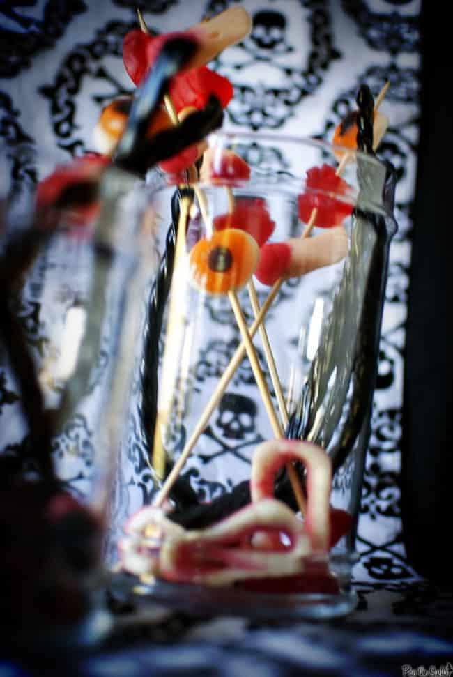 Halloween Candy Jars | Kita Roberts PassTheSushi.com