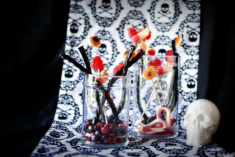 Snapshot Saturday: DIY Creepy Candy Jars for Halloween