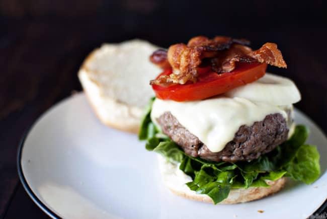 Ranch Beef Burgers \\ PassTheSushi.com