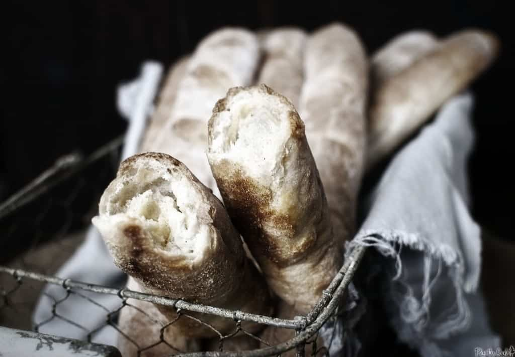 Read our review of the book, The Fundamental Techniques of Classic Bread Baking, and get the recipe to make a classic straight baguette. \\ PassTheSushi.com