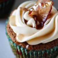 Maple French Toast Bacon Cupcakes