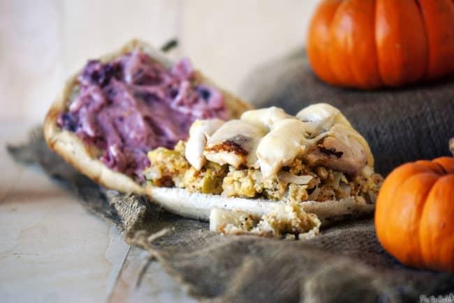 Pilgrim sandwich | Kita Roberts PassTheSushi.com