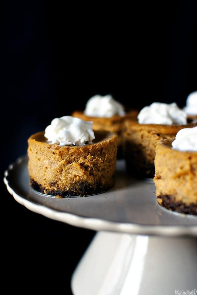 Gingersnap Spiced Mini Pumpkin Pies