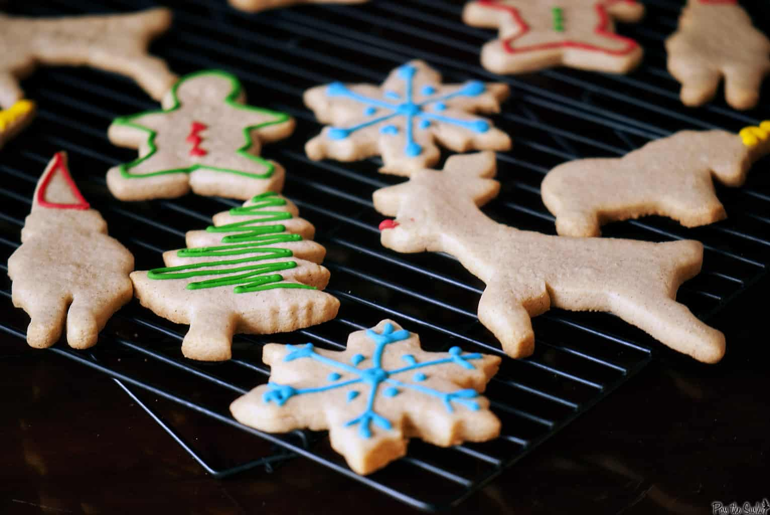 Eggnog sugar cookies are one of the easiest Christmas cookies to make for the holiday season.