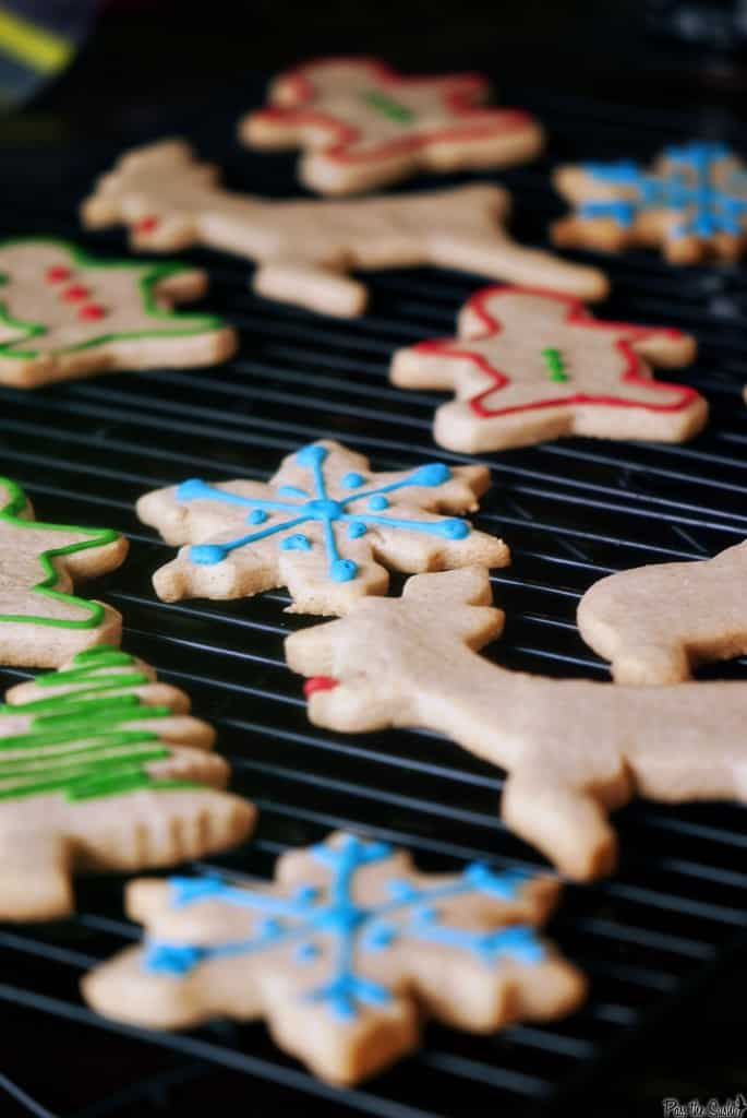 Eggnog Sugar Cookies & 100 of the best cookie recipes for Christmas | PasstheSushi.com
