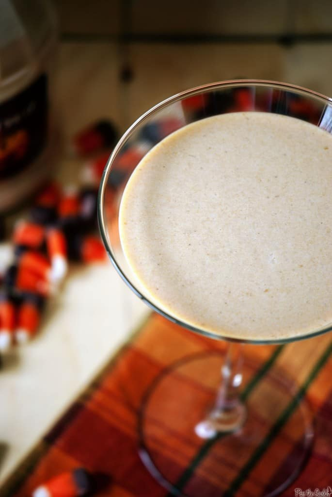 Pumpkin pie martinis will be the perfect ending to your holiday dinner party. Rich and creamy, this adult cocktail recipe will put everyone in a festive mood.