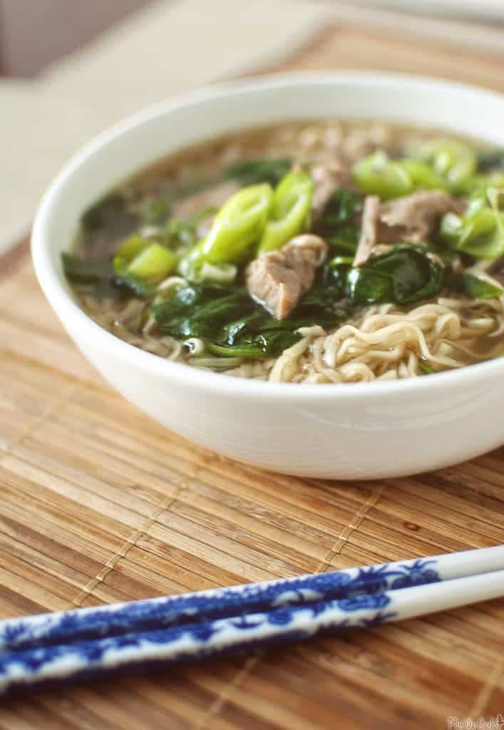 Good reading & Japanese Pork and Ramen Soup - Pass The Sushi