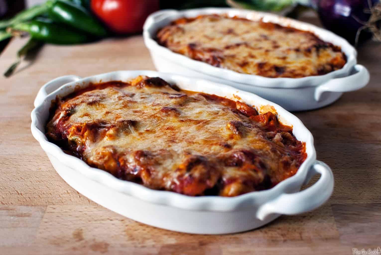 Quick Tortellini Bake with Rose Sauce
