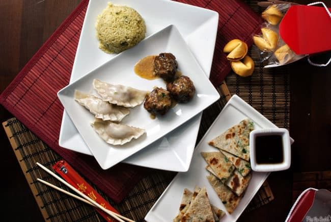 Chinese New Year is a special event, so serve a special dinner of Lion's Head Meatballs. Giant pork meatballs packed with crisp, Asian flavors,  simmered in a coconut bath. \\ PassTheSushi.com