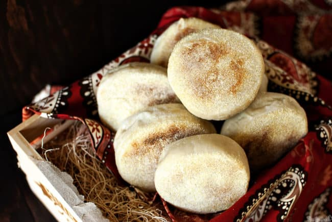Homemade English muffins will become your new favorite breakfast bread of choice. Tender and chewy, with the perfect balance of nooks and crannies. \\ PassTheSushi.com