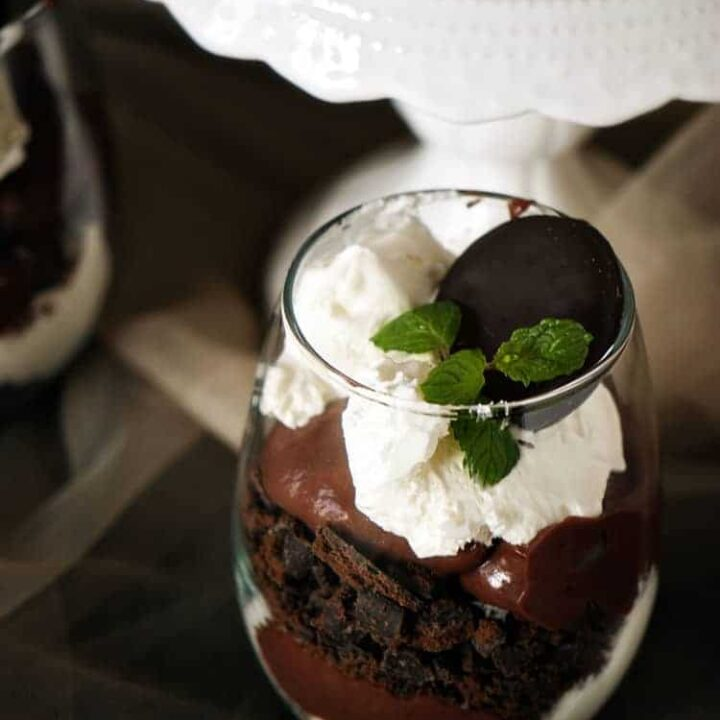 Thin Mint Trifles