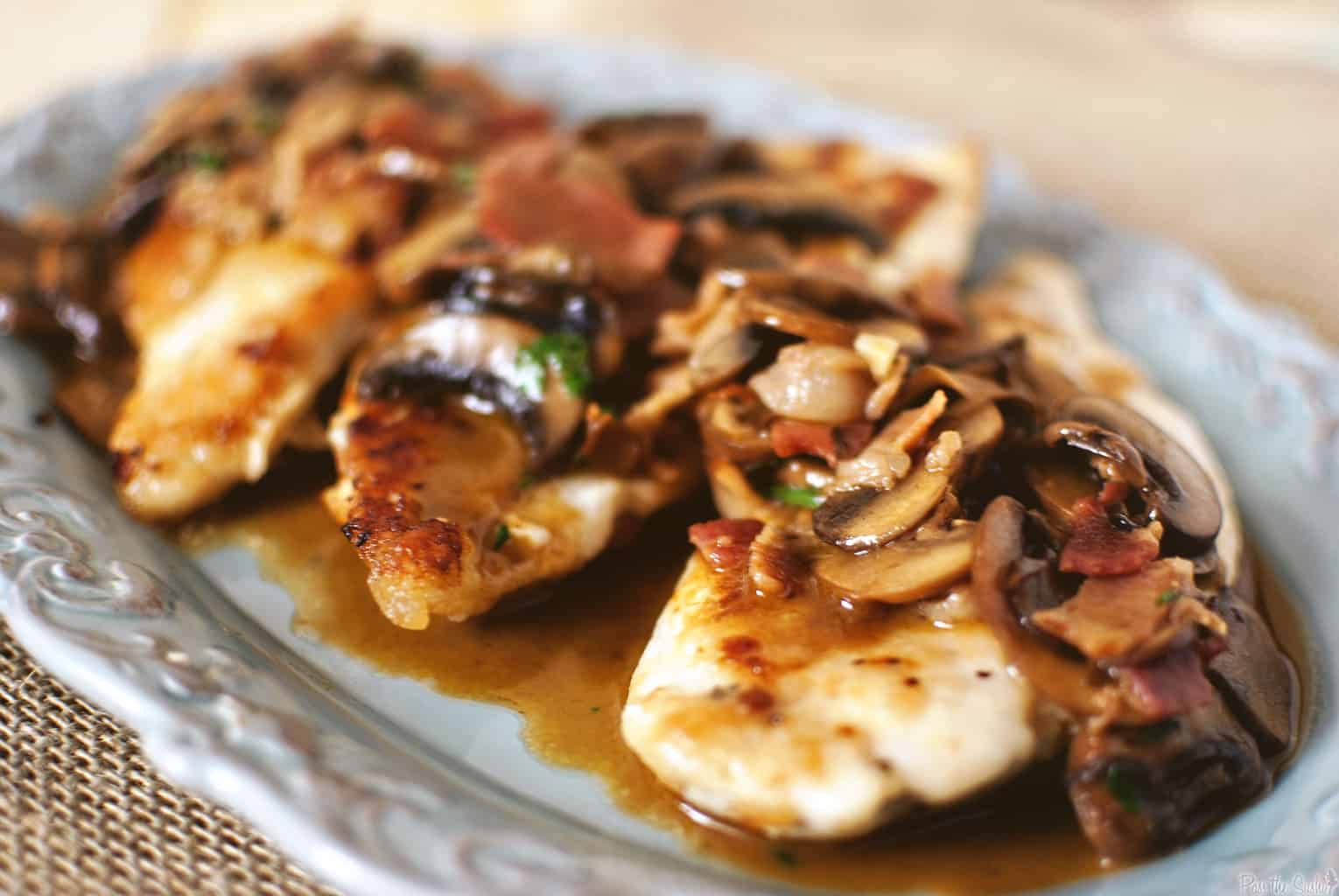 Chicken Marsala - Pass The Sushi