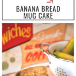 A crazy easy and totally delicious banana bread mug cake recipe