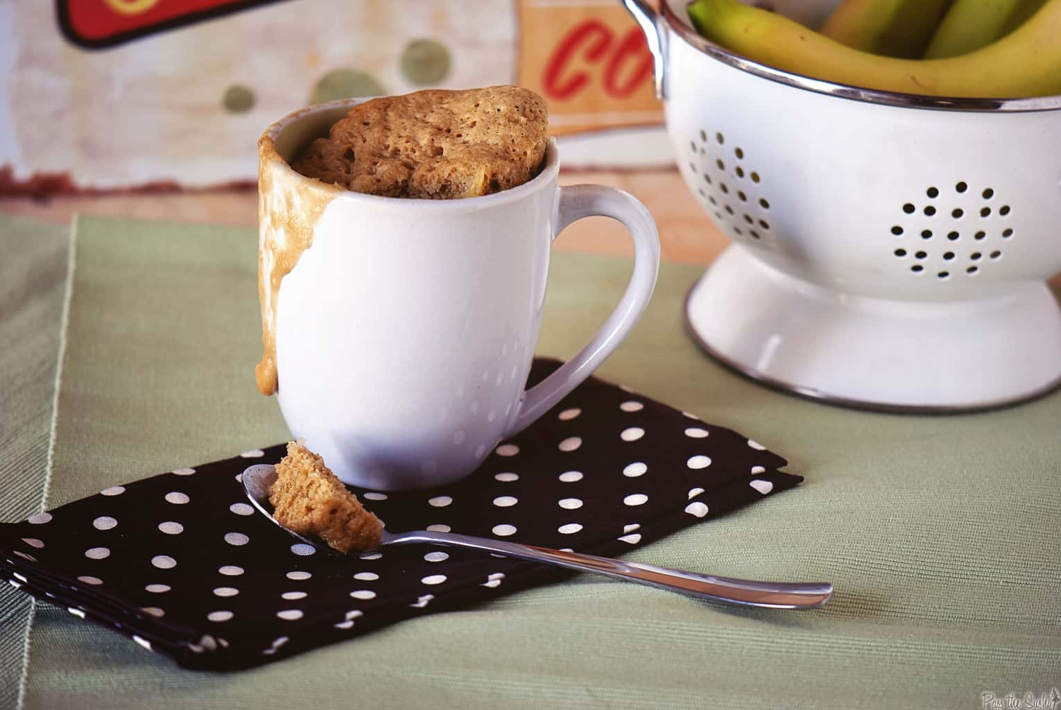 Banana Bread Mug Cake - Easy Microwave Recipe | Kita Roberts