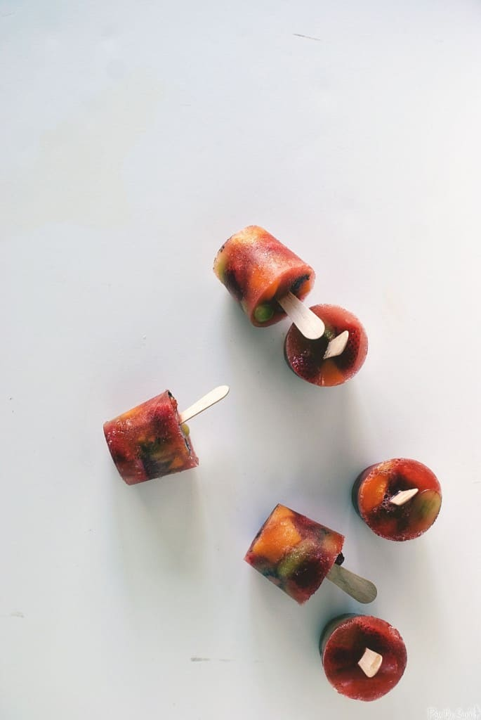 Fruity Sangria Pops