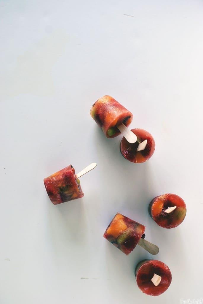 Fruity Sangria Pops