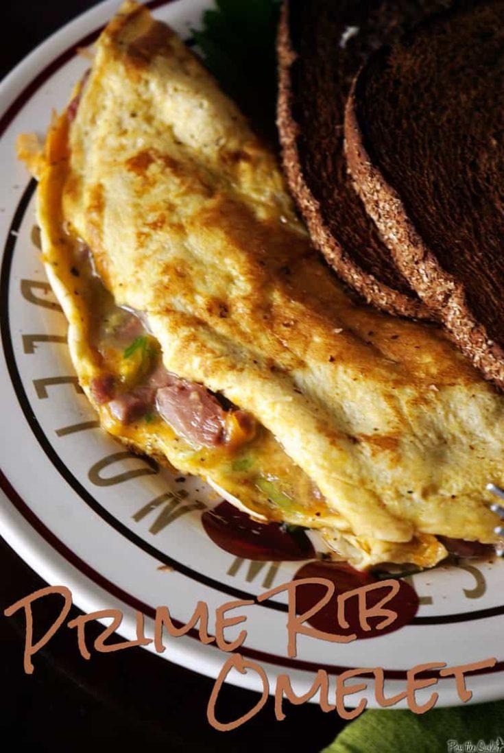 Prime Rib Omelet