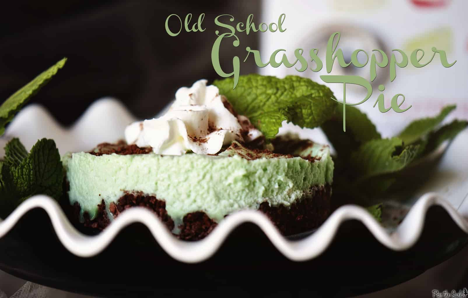 Grasshopper Pie & SprinkleBakes Cookbook Giveaway - Pass The Sushi