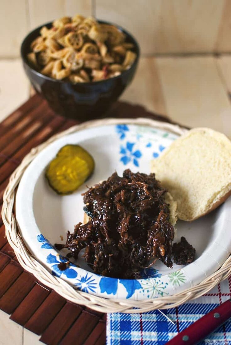 Texas Shredded Barbecued Beef