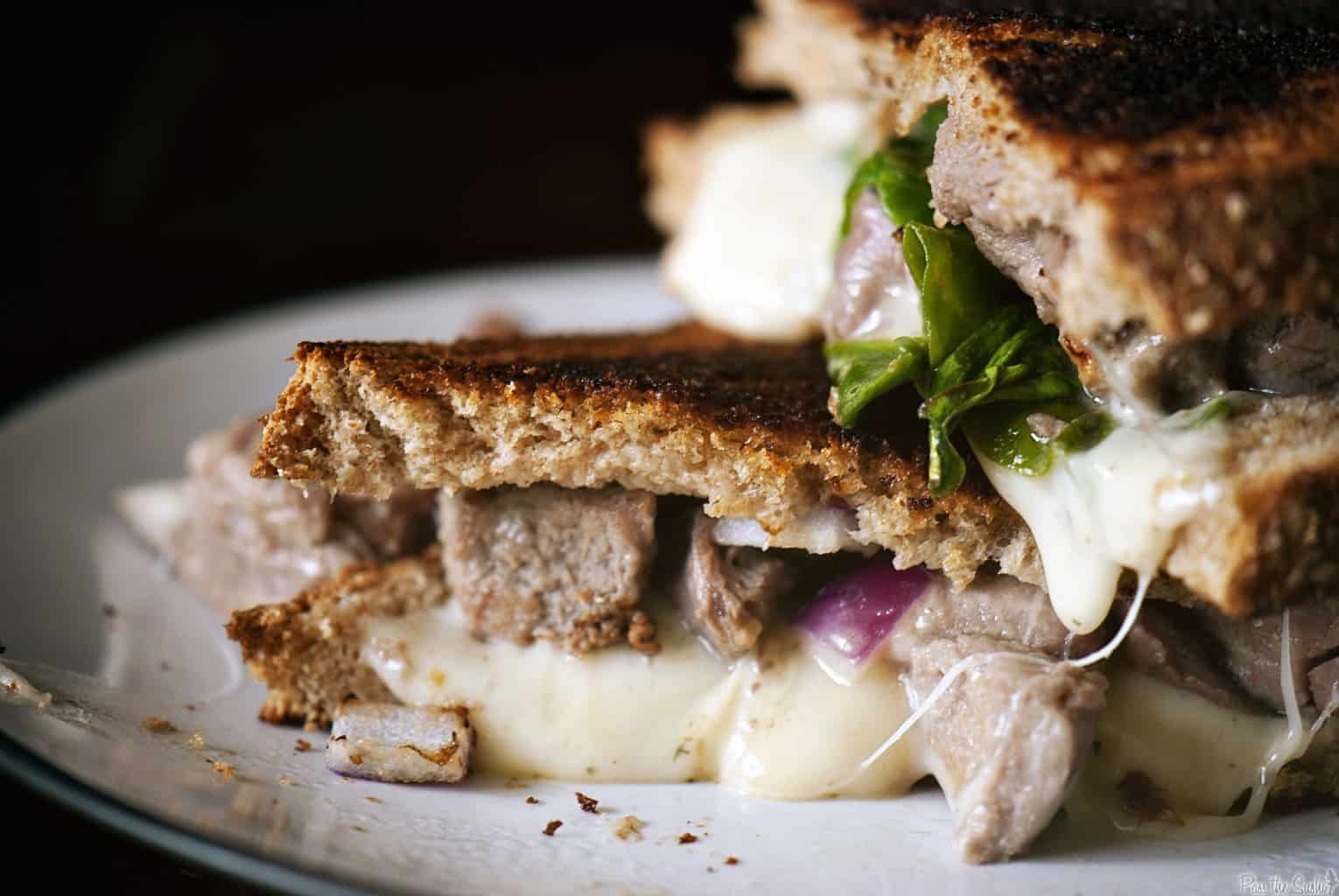 Lamb Grilled Cheese Sandwich