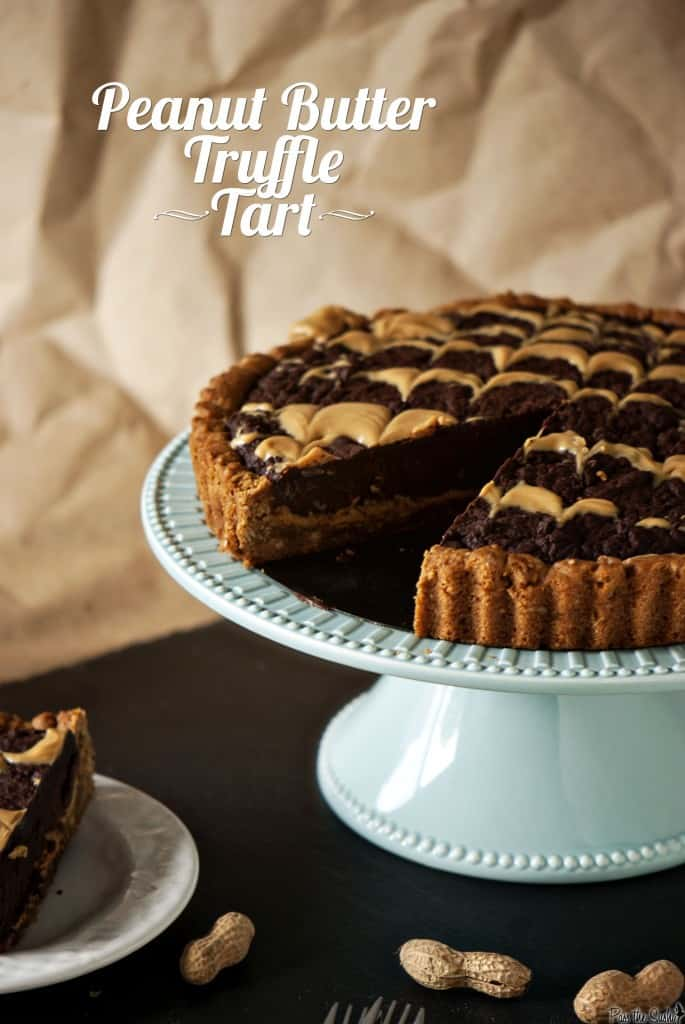Peanut Butter Truffle Tart - Pass The Sushi