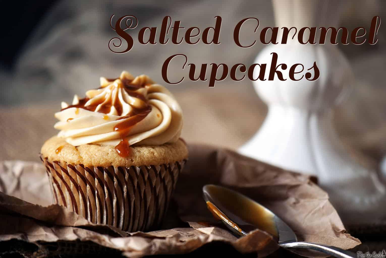 Salted Caramel Cupcakes - Pass The Sushi