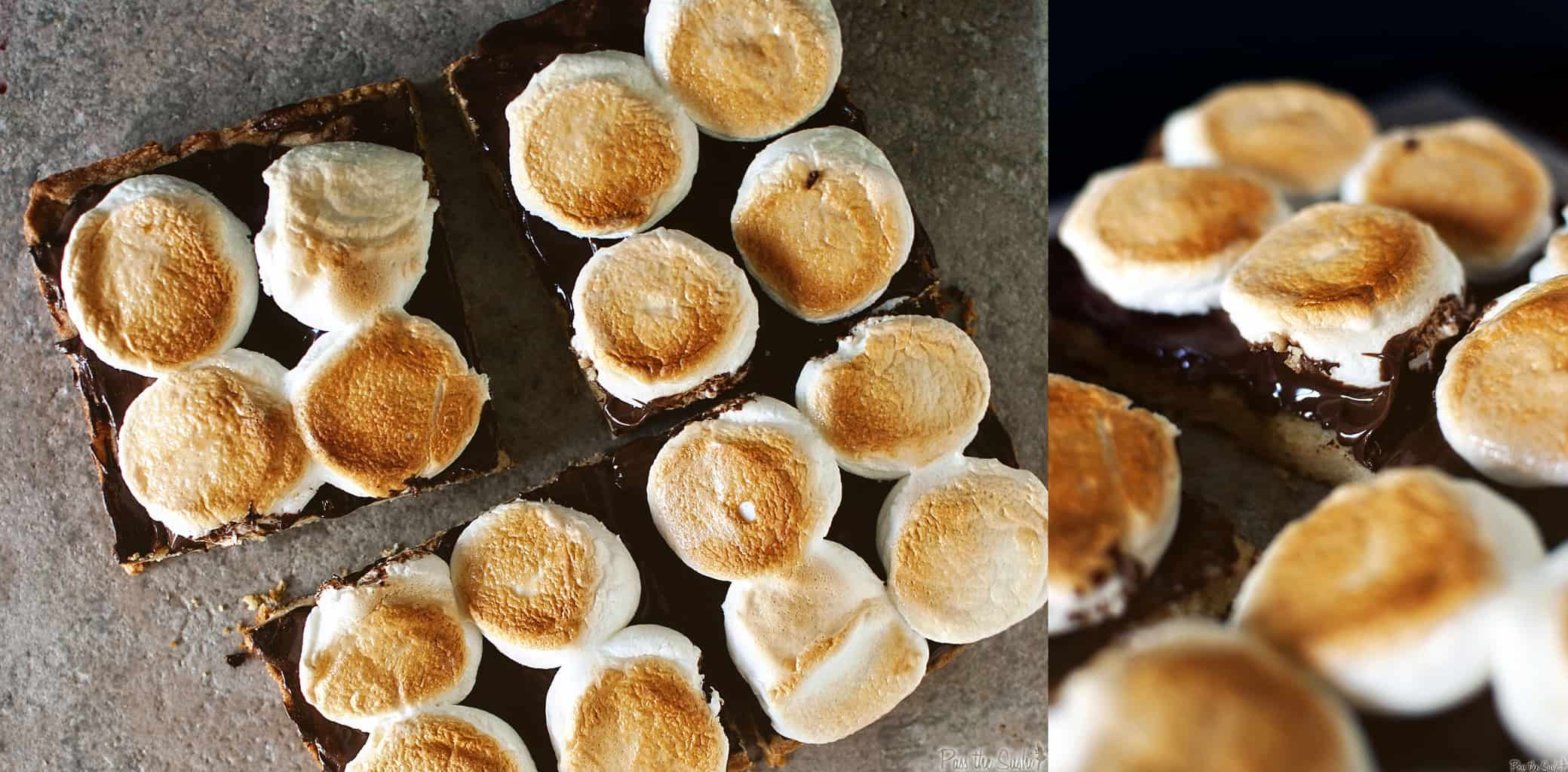 Toasted Marshmallow Squares & The Big Summer Potluck - Pass The Sushi