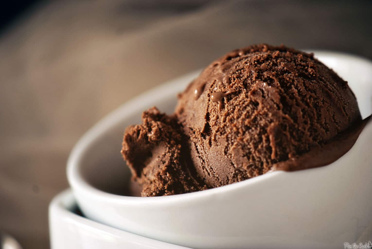 Double Chocolate Liqueur Ice Cream